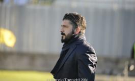 Prato - Pisa intervista dopo partita Gattuso