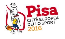 Pisa città europea dello sport 2016:  un anno di sport,  in programma 176 eventi.