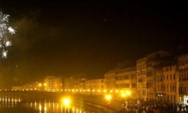 A Pisa ai fuochi ci pensa il Comune