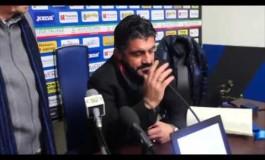 Gattuso emozionato per l'affetto dei tifosi pisani
