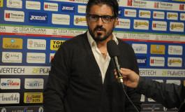 Mister Gattuso alla vigilia di Pisa - Teramo