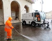 Pisa, operativo il nuovo contratto di manutenzione e pulizia delle strade