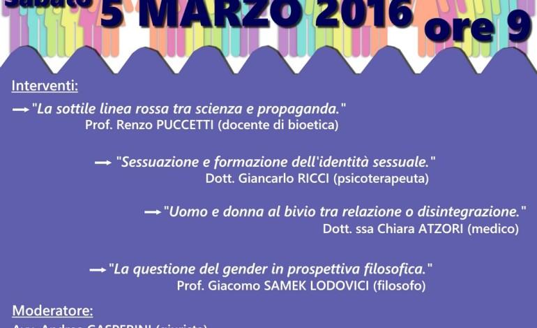 A Pisa un convegno su sesso e gender