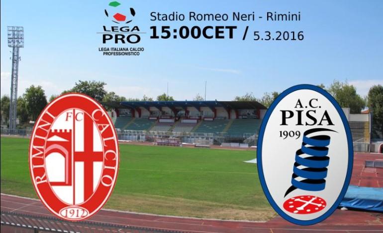 I precedenti tra Rimini e Pisa