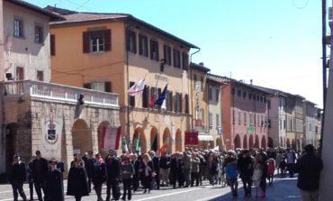 Celebrato a Cascina il 25 aprile