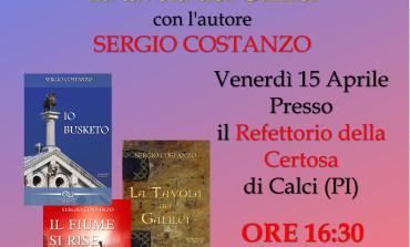 Calci: incontro con lo scrittore Sergio Costanzo