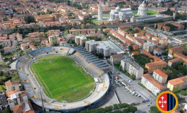 Arena Garibaldi: capienza per Pisa - Perugia