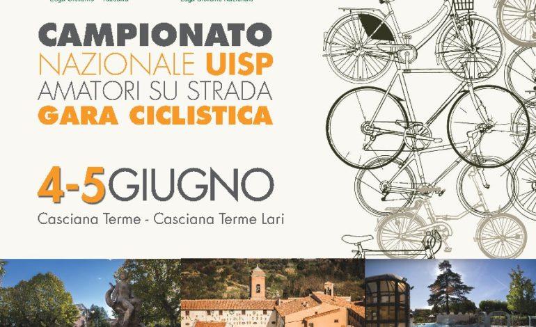 Casciana: presentato il Campionato Nazionale UISP Amatori, gara ciclistica su strada