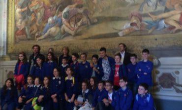 """La 5°A delle """"Damiano Chiesa"""" in visita al Comune di Pisa"""
