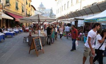 La fiera di San Ranieri nella nuova via Santa Maria