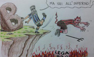La vignetta del Gorreri - Pisa in serie B