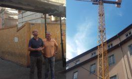Pisa: la gru in Piazza Sant'Omobono sarà rimossa
