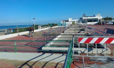 Tirrenia: iniziata la riqualificazione della Terrazza Belvedere