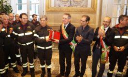 Consegnata la Torre d'Argento al Comando provinciale dei Vigili del Fuoco di Pisa