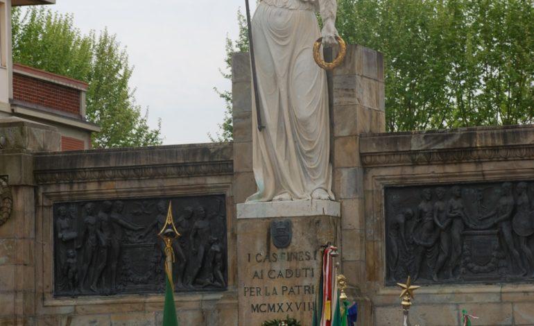 FESTA DELLA LIBERAZIONE 25 aprile, a Cascina corteo e deposizione di una corona al monumento ai Caduti