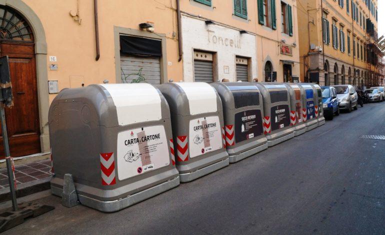 Cassonetti automatizzati in centro, dal 15 maggio utilizzabili solo con la tessera elettronica