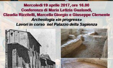 Alla Gipsoteca una conferenza sugli scavi archeologici al Palazzo della Sapienza