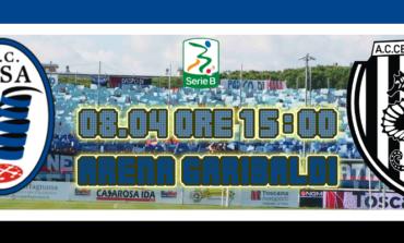 Pisa-Cesena 0-1. Ancora Ciano ed il Pisa va KO