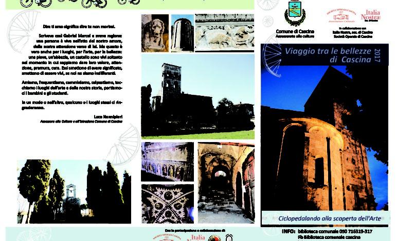 Cascina, in bici tra chiese e pievi del territorio Da San Benedetto a Marcianella alla scoperta di storie dipinte e scolpite
