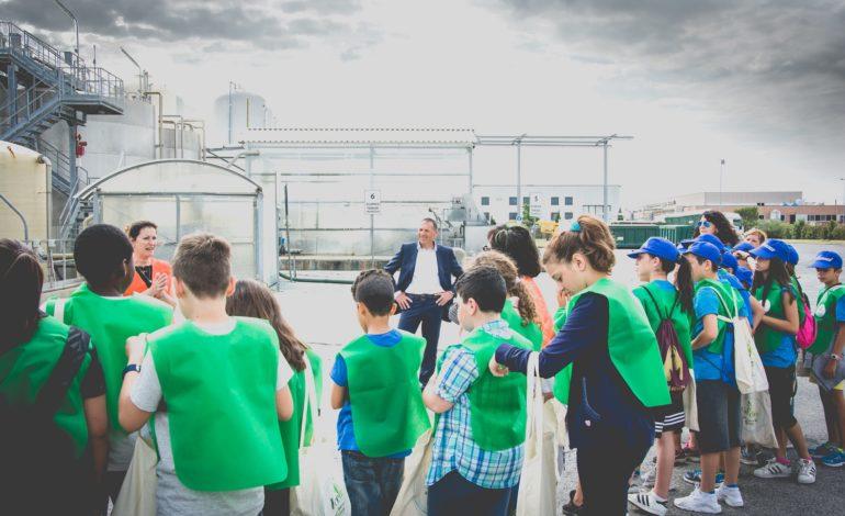 Pontedera, oltre 600 ragazzi delle scuole in visita all'impianto Ecofor di Pontedera