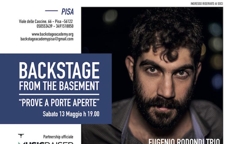 """SABATO 13 MAGGIO AL VIA """"BACKSTAGE FROM THE BASEMENT"""" CON IL CANTAUTORE TORINESE EUGENIO RODONDI"""