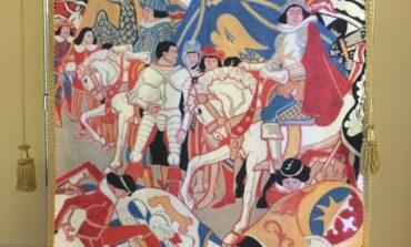 Gioco del Ponte, il Maestro da Caprile ha realizzato il Palio della Vittoria