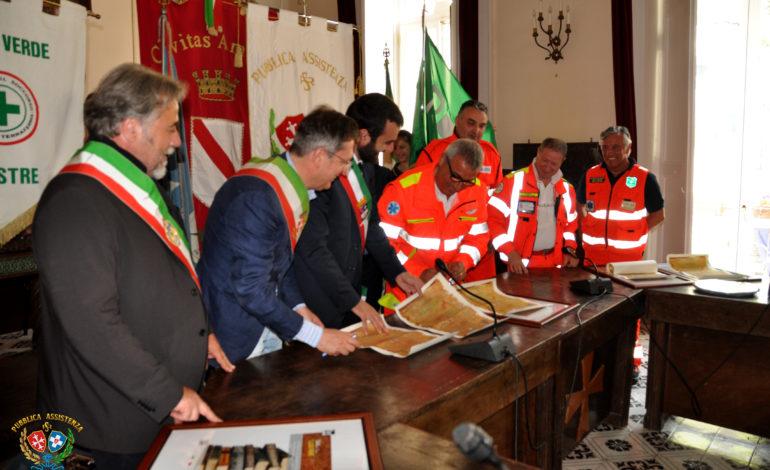 Pisa, si rinnova il gemellaggio delle Pubbliche Assistenze delle Repubbliche Marinare