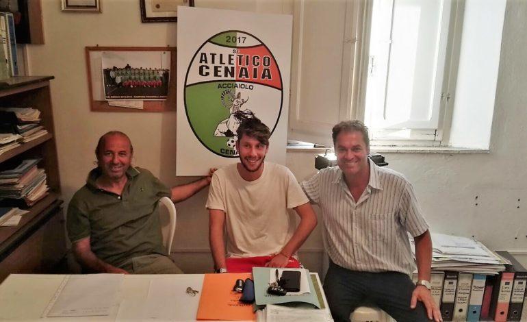 L'Atletico Cenaia mette sotto contratto Andrea Ghelardoni