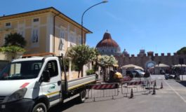 Pisa, al via i lavori per migliorare l'accessibilità della fermata dei bus in piazza Manin