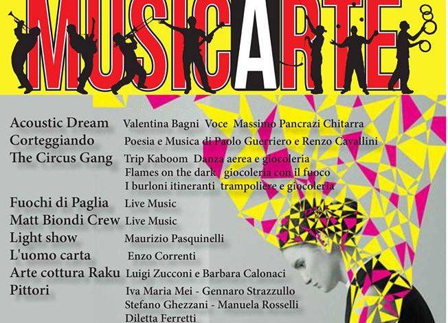 MusicArte, l'Arte che abbraccia il rock'n'roll a Casciana Terme