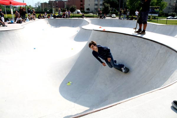 Pisa, nuova vita per la pista da skate di Cisanello