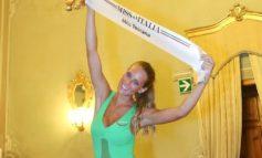 Lavinia Mannucci 25 anni di Firenze e' la nuova Miss Toscana 2017