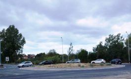 Pisa, aperta la nuova rotonda per il Cep all'incrocio con via Fossa Ducaria