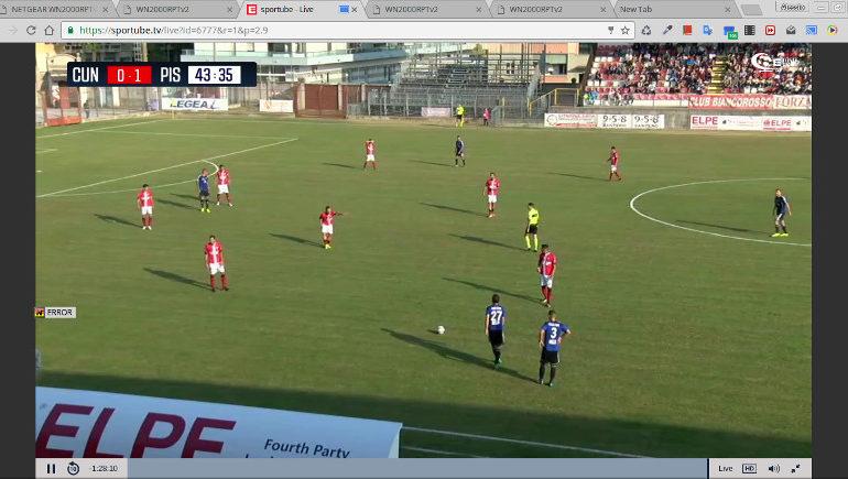 Cuneo-Pisa 0-1. Decide De Vitis e i nerazzurri vincono la prima gara in trasferta