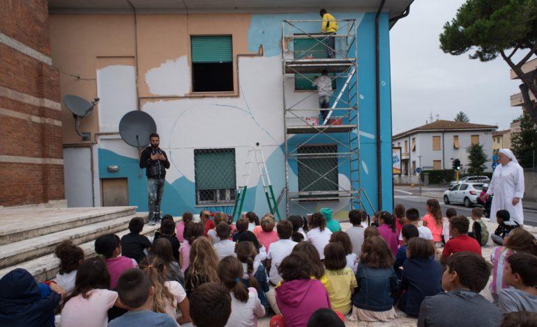 Le Scuole Pisane alla scoperta dei nuovi Murales di Porta a Mare