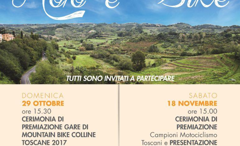 Motociclismo Toscano e MTB Colline Toscane: premiazione della stagione 2017 a Casciana Terme