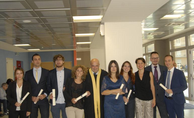 Consegnati i diplomi ai 228 allievi dei master del dipartimento di Economia e Management