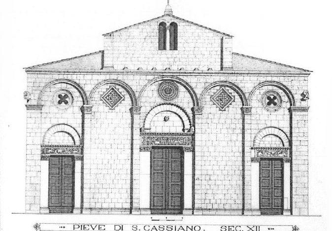 """""""L'architettura romanica  nella provincia di Pisa"""" in mostra a Cascina"""