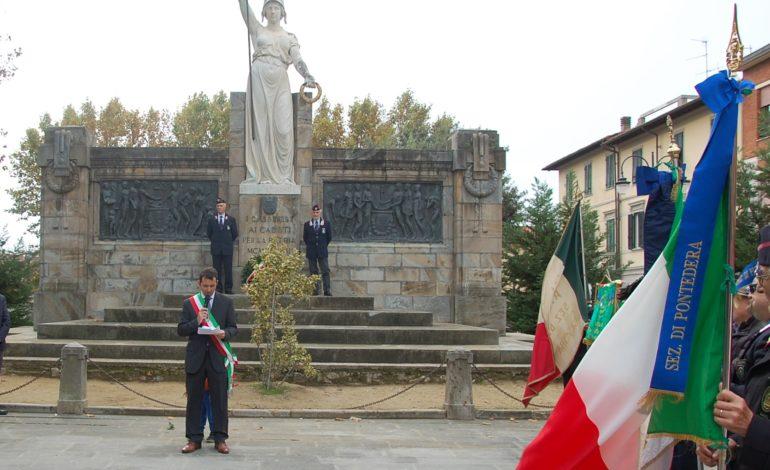 Il 4 novembre celebrato a Cascina