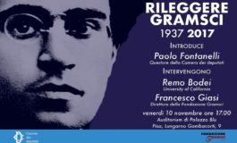 "A Pisa l'iniziativa ""RILEGGERE GRAMSCI. 1937-2017"""
