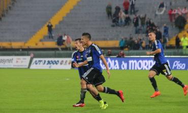 Pisa-Pistoiese 3-3. Un Pisa sfortunato perde due punti solo in pieno recupero