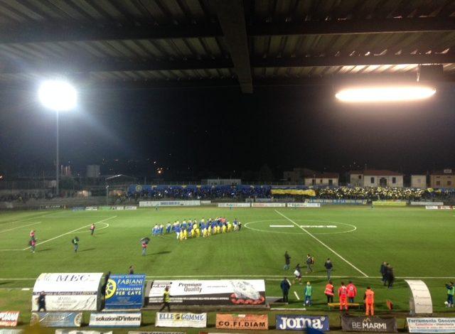 Carrarese-Pisa 2-3. Il Pisa sotto di 2 reti rimonta e sul finale Masucci conquista la vittoria