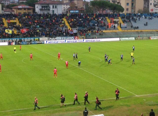 Ancora un pareggio casalingo, altra occasione sprecata per i nerazzurri: Pisa- Giana Erminio 0-0