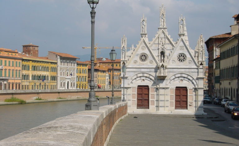 Chiesa della Spina accessibile: realizzate due rampe per accedere al marciapiede dalle strisce pedonali