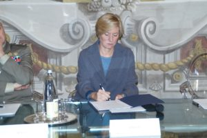 Roberta Pinotti Ministro della Difesa