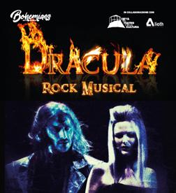 Arriva a Cascina il rock musical dedicato alla storia di Dracula
