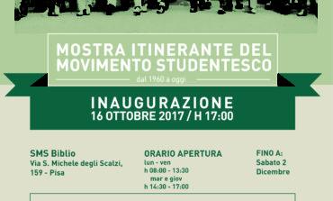 """Pisa, apre la mostra """"In Movimento, la nostra storia dal 1960 ad oggi"""" organizzata dagli studenti"""