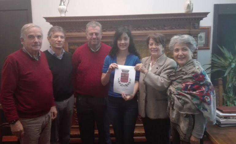 Calcinaia, attestato di riconoscimento per Stefania Gori