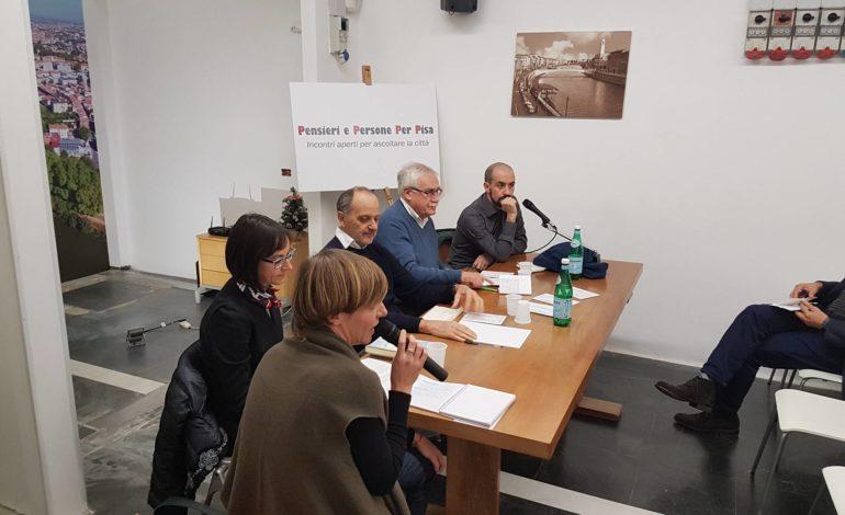 """Parte il progetto civico """"Pensieri e Persone per Pisa"""""""