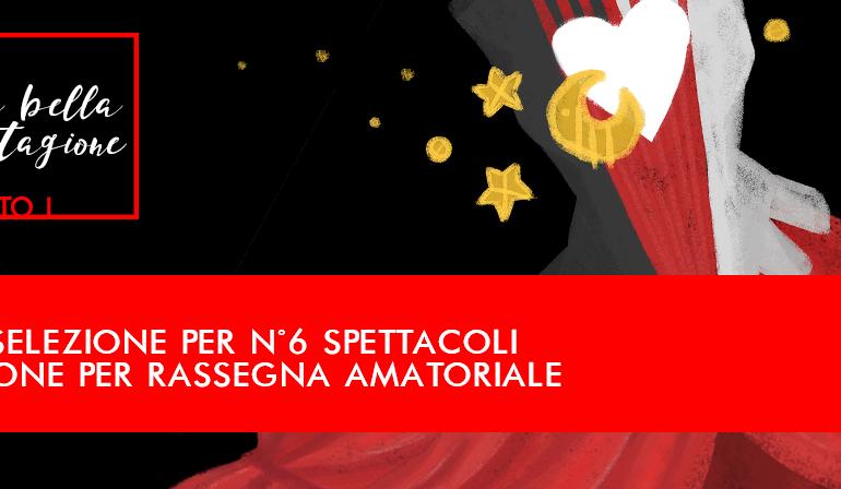Aperte le iscrizioni al Bando Amatoriale per Compagnie Teatrali al Teatro Di Bo'